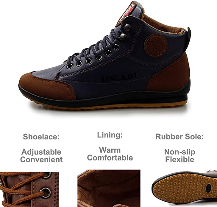 Polar Fox Cohen MPX808586 Mens Casual Wing Tip Perforated Military Combat Dress