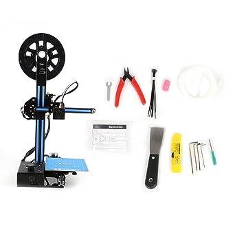 Impresora 3D, DIY kit de la máquina auto-montaje de la pantalla ...