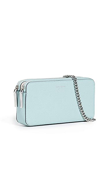 f5bf691a4 Kate Spade New York Women's Margaux Mini Crossbody Bag, Hazy, Blue, One Size
