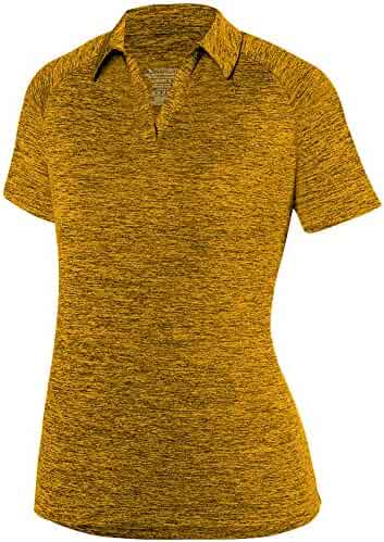 63eaf6d567d64b Augusta Sportswear Women's Intensify Black Heather Sport Shirt