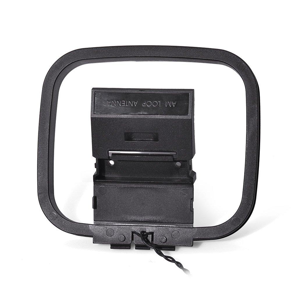 Eightwood Antena de 3 Pines Antena de 3 Pines para Sony HiFi Serie Receptor de AV Estéreo afinado Sistema de Audio sintonizador: Amazon.es: Electrónica