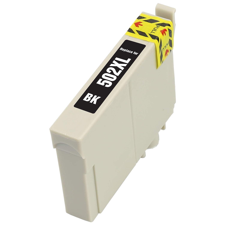2X Negro compatibles Cartuchos de Tinta para for EPSON 502XL 502 ...