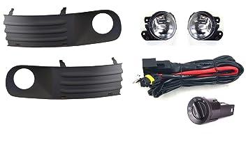 Gitter Set + Verkabelung + Scheinwerfer Schalter: Amazon.de: Auto