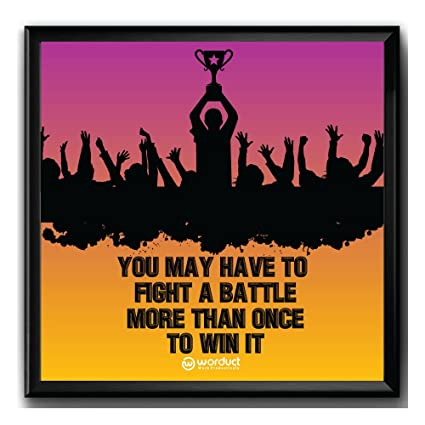 Motivational & Inspirational Poster for Home, Office, Startup, Gym