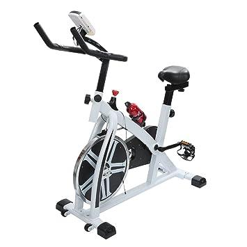 POPSPARKk bicicletas tradicionales de ciclismo indoor Bicicleta de spinning con bluetooth para el hogar Bicicleta de fitness con un lugar para beber ...