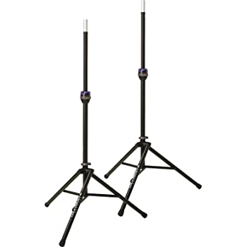 ultimate support ts 90b telelock tripod speaker stand pair musical instruments. Black Bedroom Furniture Sets. Home Design Ideas