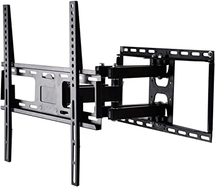 "TV Wall Mount Articulating LCD Monitor Full Motion 14/"" Extension Arm Tilt Swivel"