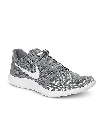 new styles 35552 75890 Nike Mens Flex Contact 2 GunsmokeWhite-Wolf Grey-Black Running Shoes (