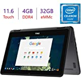 Dell 2-in-1 11.6-inch Touchscreen Chromebook Laptop