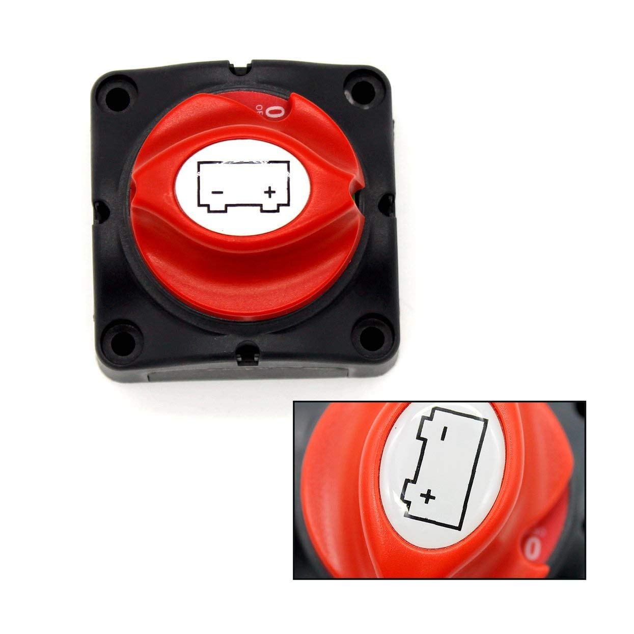 Interruttore automatico di alimentazione della batteria con corrente nominale pari a 600A Alimentazione a batteria Manopola di protezione Interruttore staccabatteria per auto