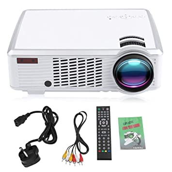 LoveOlvido - Proyector inalámbrico con WiFi Full HD 1080P LED ...