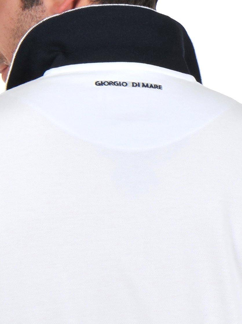 Giorgio Di Mare Polo Blanco 2XL: Amazon.es: Ropa y accesorios