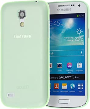 doupi UltraSlim Funda para Samsung Galaxy S4 Mini, Finamente Estera Ligero Estuche Protección, Verde: Amazon.es: Electrónica