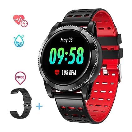 Amazon.com: GOKOO - Reloj inteligente para hombre, deportivo ...