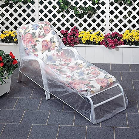 amazon com outdoor vinyl covers patio chair covers garden rh amazon com Agio Outdoor Furniture Covers Vinyl Couch Covers