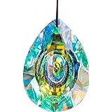 H&D HYALINE & DORA 89mm/3.5in Hanging Chandelier Crystals Prisms for Window Suncatchers Chandelier Parts Rainbow Maker Pendan