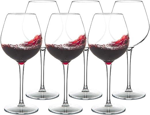 Copas de vino Micchley irrompibles de plástico 100% Tritan ...