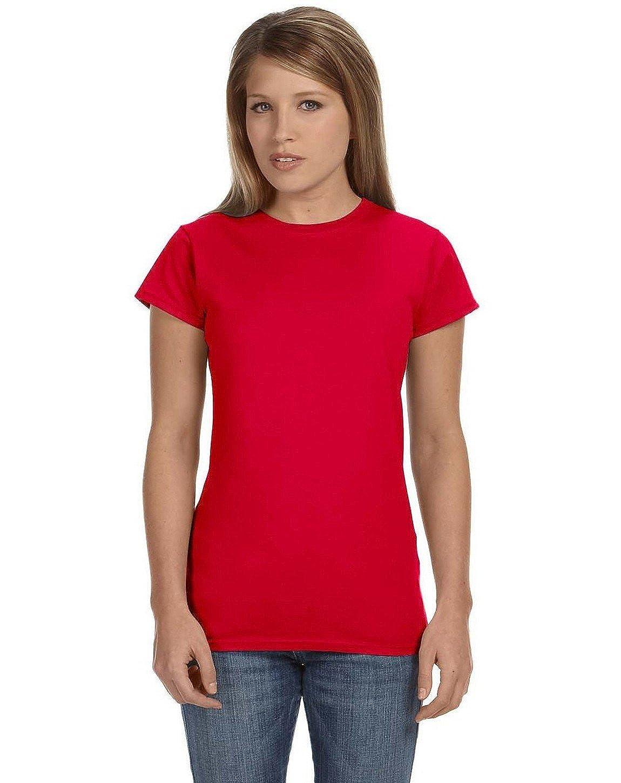 Fashion Gildan 64000L Ladies Softstyle T Shirt
