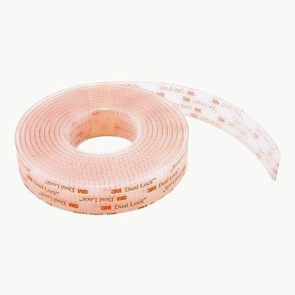 3m dual lock reclosable fastener sj3560 250 clear 1 2 in x 6 ft