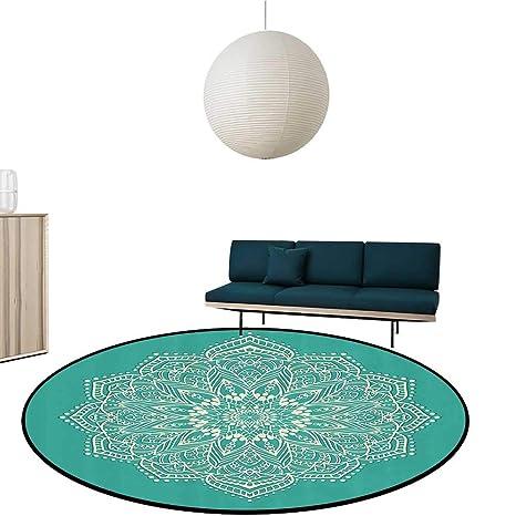 Amazon.com: Custom&blanket Ultra Soft Carpet Round East ...