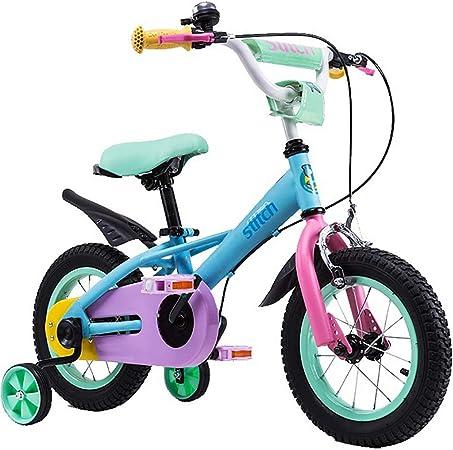 GAIQIN Durable Bicicleta para niños 2-4-5-7-8-9.5 años Frenos de ...
