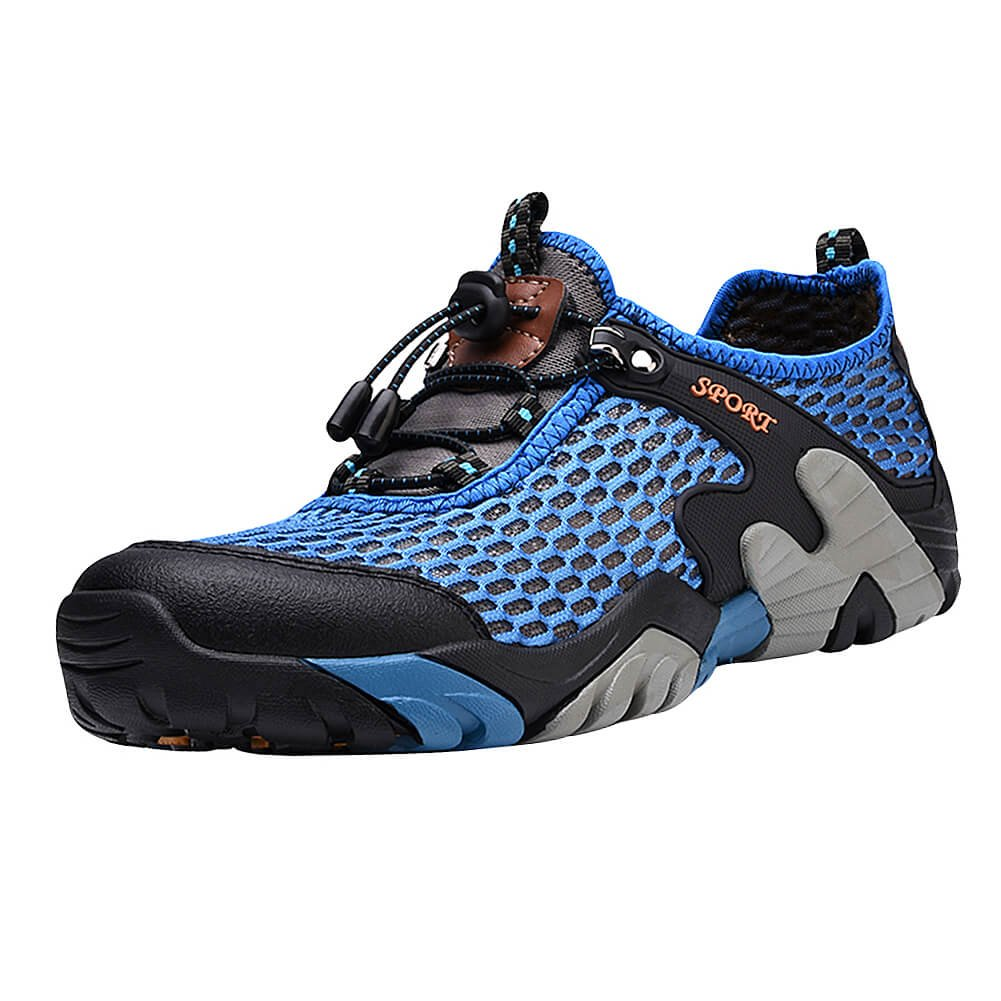 Padcod Hiking Shoes, Men's Boating Water Trail Shoes Sneakers for Climbing Hiking Outdoor