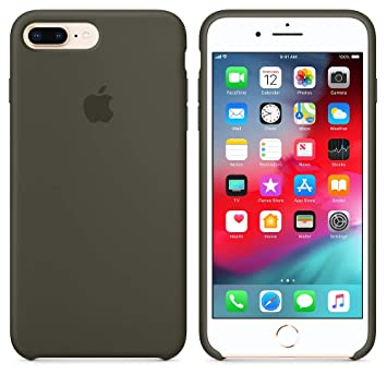 Funda para iPhone 7Plus/8Plus Carcasa Silicona Suave Colores del Caramelo con Superfino Pelusa Forro,Anti-rasguños Teléfono Caso para Apple iPhone ...