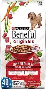 Purina Beneful Originals Adult Dry Dog Food - 31.1 lb. Bag (Real Beef, 40 lb. Bag)