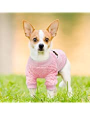 ETbotu Cute Winter Dog Sweatshirt Casual Pajamas Jacket Coat for Small Dogs Chihuahua Pug Puppy Clothes