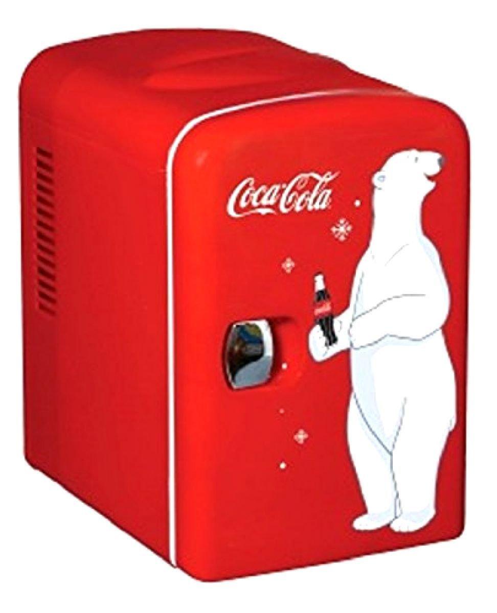 Koolatron KWC-4 Coca-Cola Personal 6-Can Mini Fridge ;P#O455K5/U 7RK-B274606