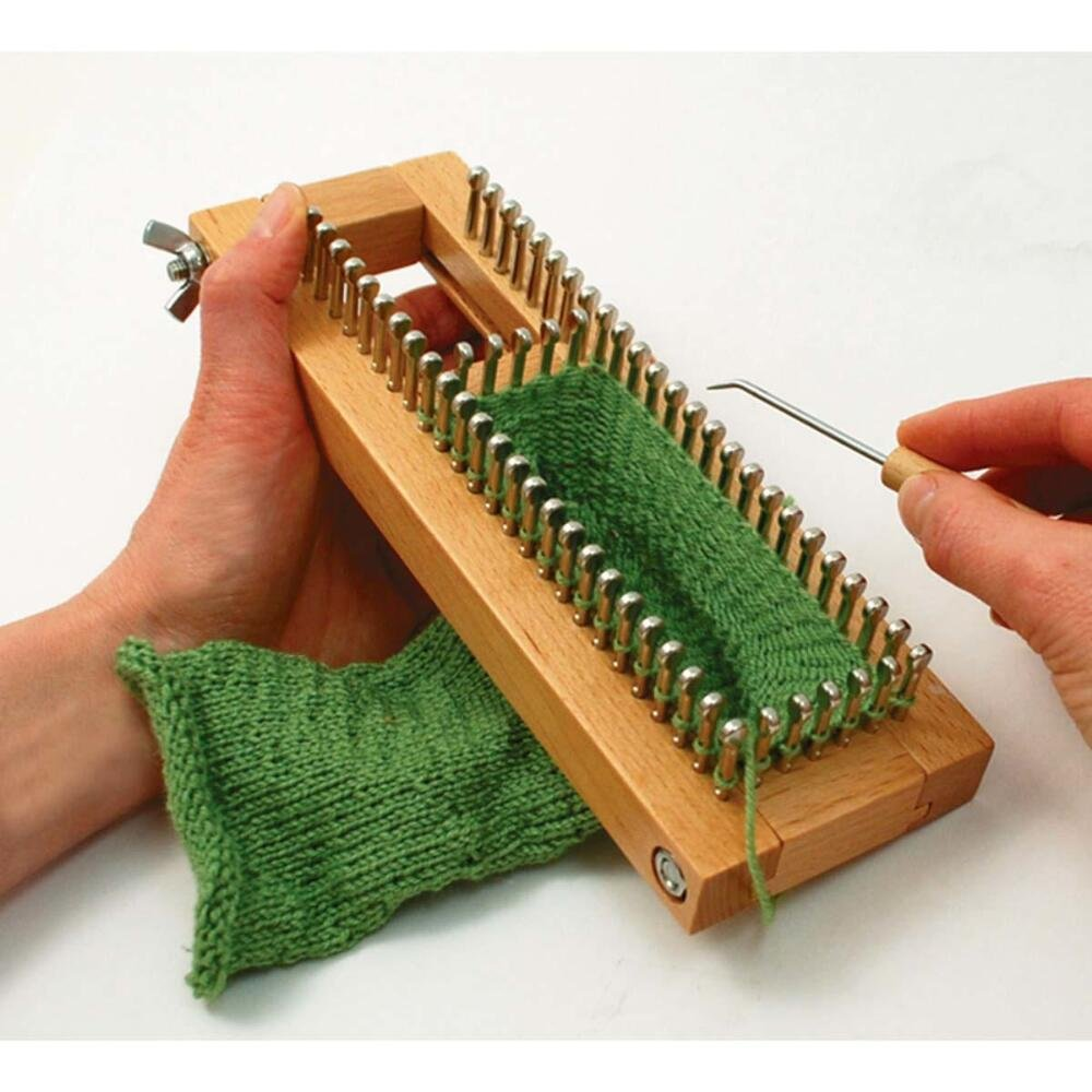 Sock Loom Adjustable 9X3- , KB4485, by Knitting Board, One (1)