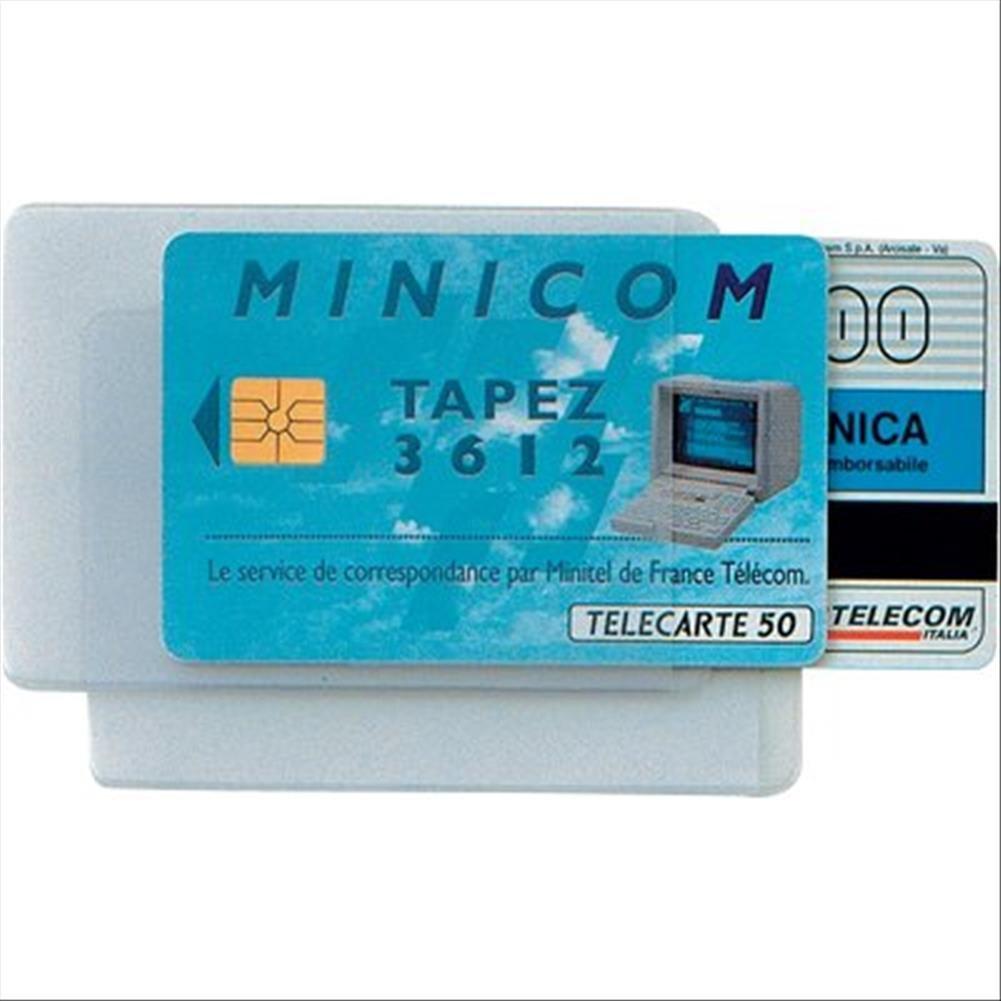 Sei Rota 484444 Portadocumenti Card, 2 Tasche, Confezione 50