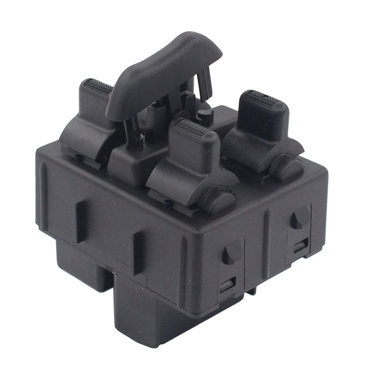 MOTOKU Front LH Driver Side Power Window Control Switch for Jeep Wrangler 2007 2008 2009 2010