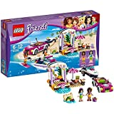 LEGO 41316 - Friends, Il Trasportatore di Motoscafi di Andrea
