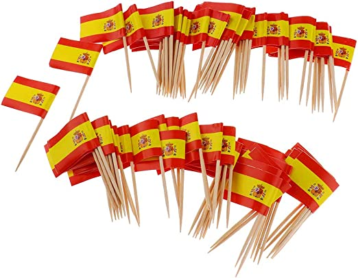 Compra Beito Mini Bandera Palillo de Dientes 100 Unids España ...