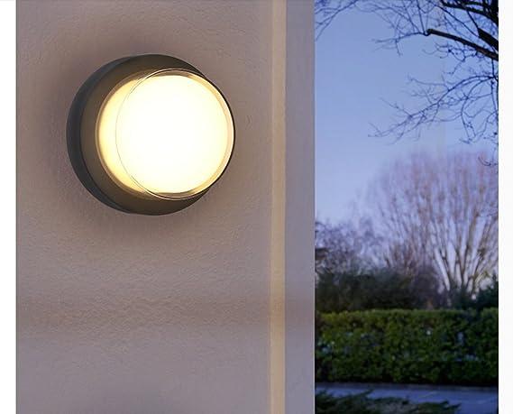 Lampade Da Parete Per Esterni : Lampada da parete per esterni da esterno a led moderna semplice