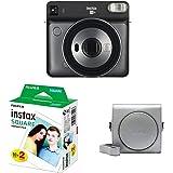 Fujifilm Instax SQ 6 EX D Sofortbildkamera Starter Set, Graphite Grau