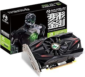 MAXSUN NVIDIA GEFORCE GT 1030 2GB ITX Graphics Card GPU GDDR5 Mini ITX Design, HDMI, DVI-D, Single Fan Cooling System