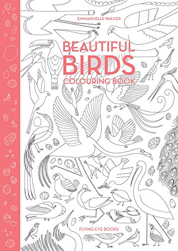 Beautiful Birds Coloring Book -