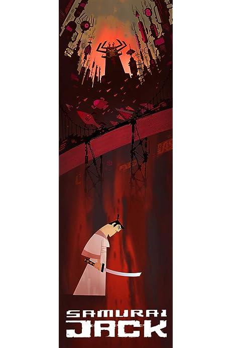 "PA285 US Comic Series TV Movie Film Samurai Jack Art Hot 40/"" FABRIC Poster N3536"