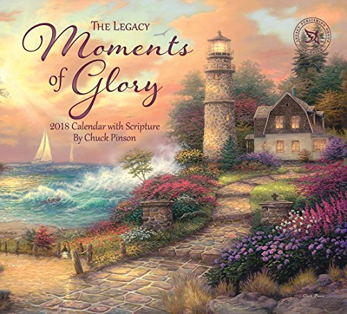 Legacy Publishing Group 2018 12-Month Wall Calendar with Scripture, Moments of Glory