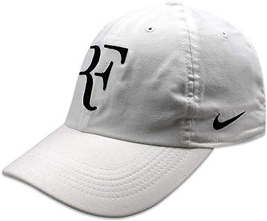 Nike RF U Nk Arobill H86 Cap Gorra, Hombre, Blanco/Negro, Talla ...