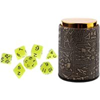 Sharplace 1 Set Dice Cup + Polyhedral Noctilucence