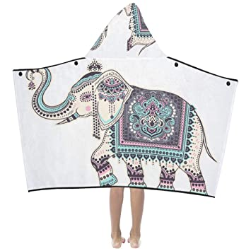 Tatuaje etnice africano Elefante Suave algodón cálido Mezclado Los ...