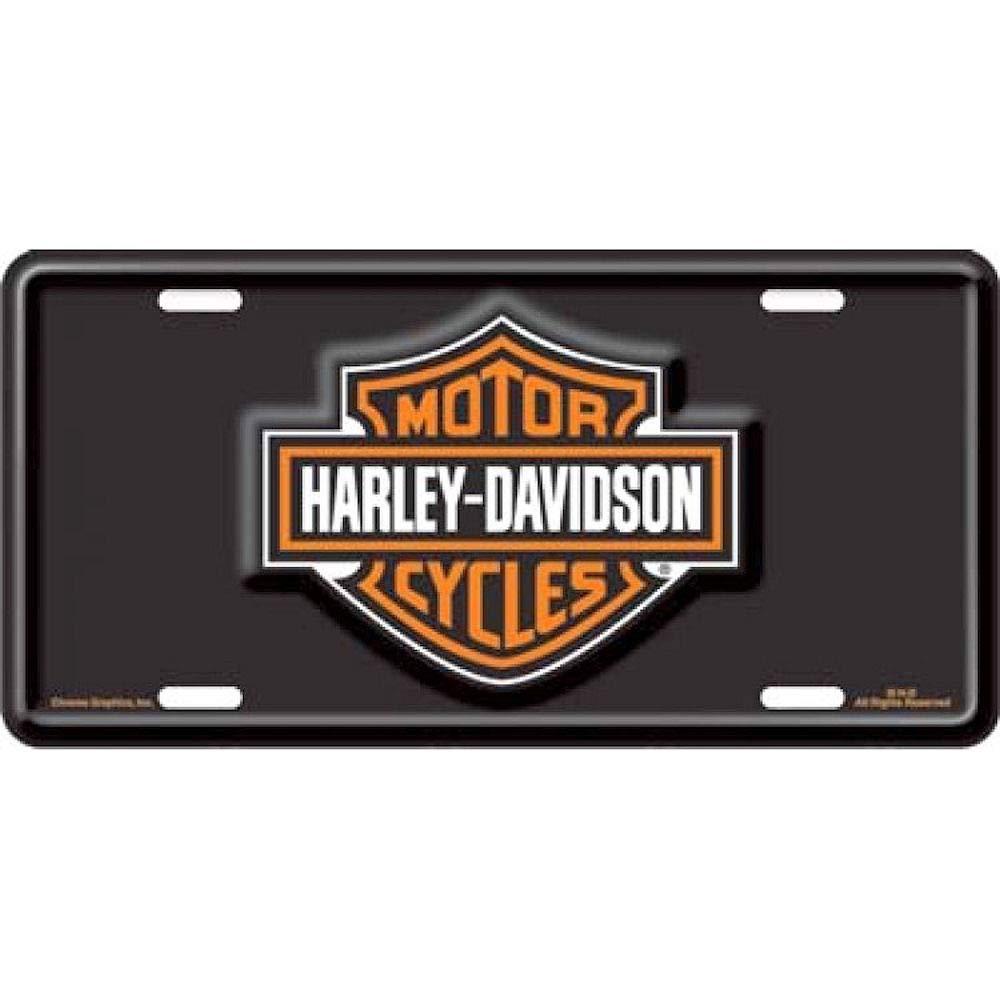 Harley Davidson Bar And Shield Targa Nero