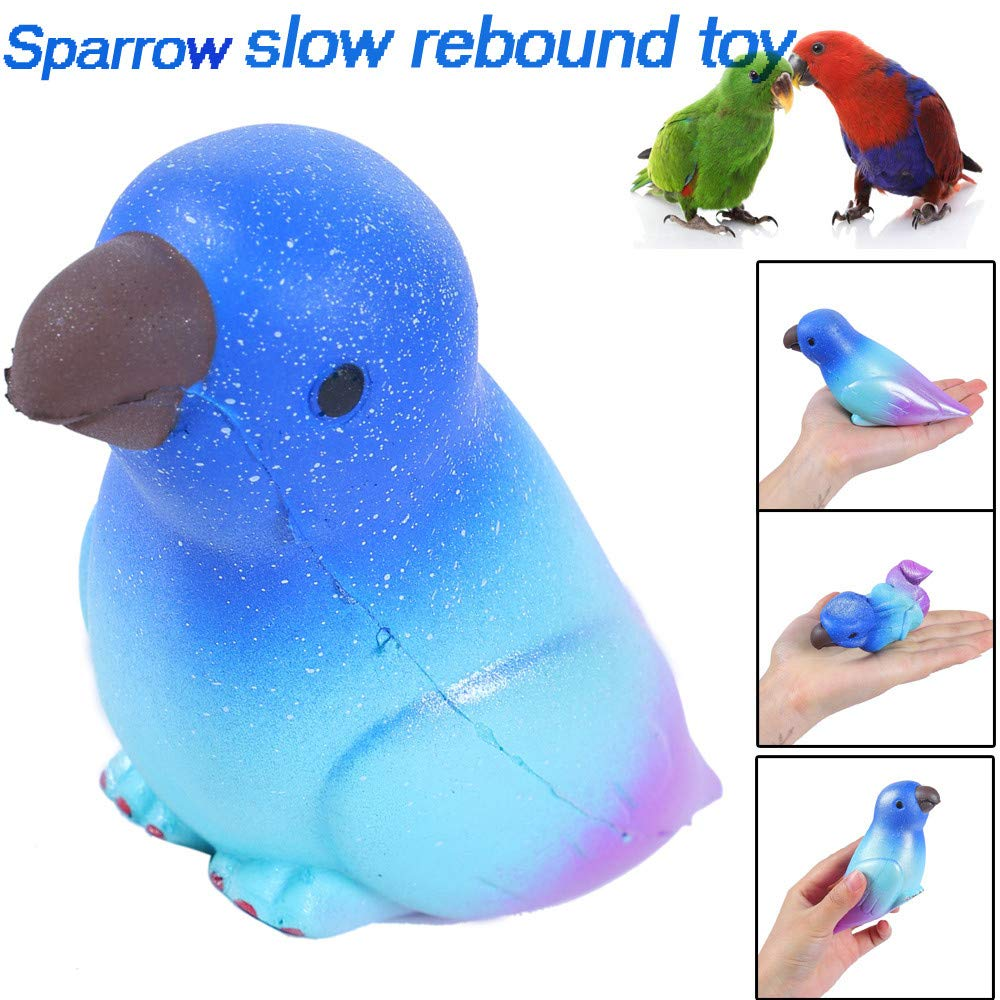 Shopping , 1PCS Squeeze Exquisite Cute Sparrow Scented Slow Rising Decompression Toys