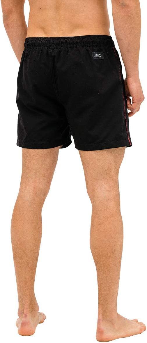 OxbOw M1VALARIS Short de Bain Homme Noir Taille Fabricant : 33 FR : L