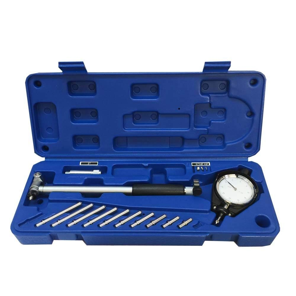 akasaw98 2 to 6 inch Dial Indicator Bore Gage Set .0005 GRAD Gauge Engine Cylinder Hole by akasaw98