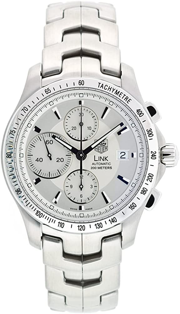 TAG Heuer Men s CJF2111.BA0594 Link Automatic Chronograph Watch