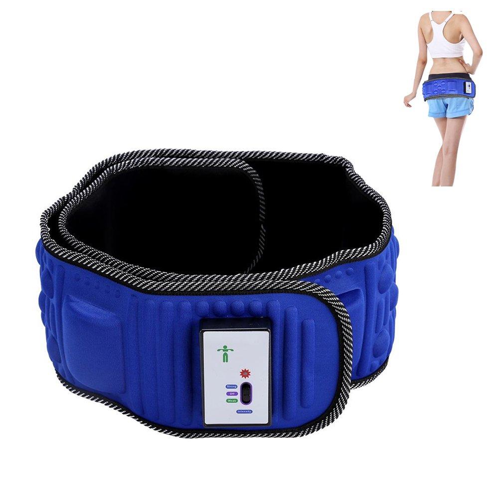 Vibration Massageg/ürtel Gewichtsverlust G/ürtel Massageg/ürtel Taille Beinform Gewichtsverlust Vibration Fitness Training Fitness Training K/örper zum Abnehmen der Taille